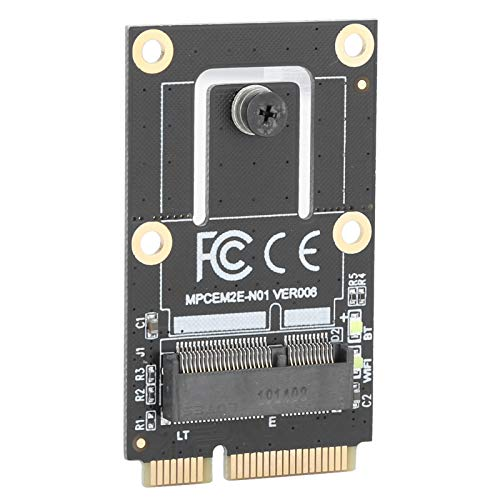 Cuifati Adaptador Mini PCI-E M.2 NGFF a Mini Tarjeta adaptadora PCI-E Adaptador Mini PCI-E (PCIe + USB) para M.2 para portátil/portátil/PC