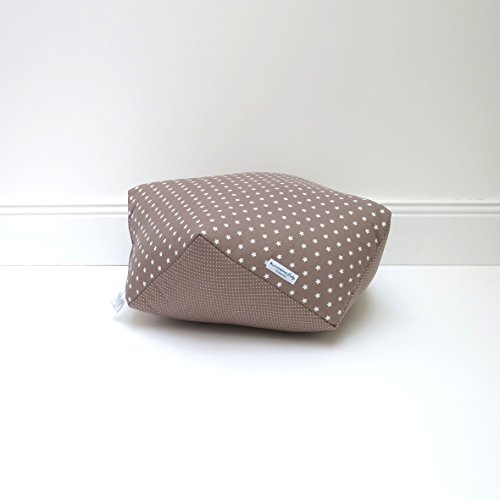 Blausberg Baby - Coussin de sol pour enfant chambre - taupe Žtoile