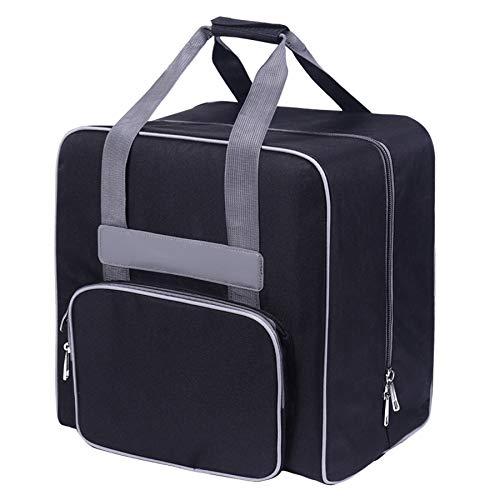 Camisin Rejoicing - Bolsa para máquina de coser, portátil, asa de coser, bolsa de mano para máquina de coser, color negro, color Negro, talla Talla Unica