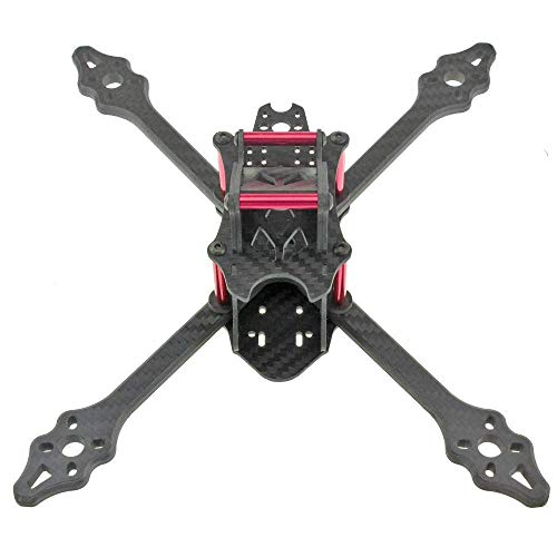 LSB-SHOWER Drone Accesorios 210MM Full Carbon Fiber 4mm Brazo Compatible con Mini Cuatro Ejes Multicopter FPV Racing Drone Quadcopters Accesorios Fácil de reparar