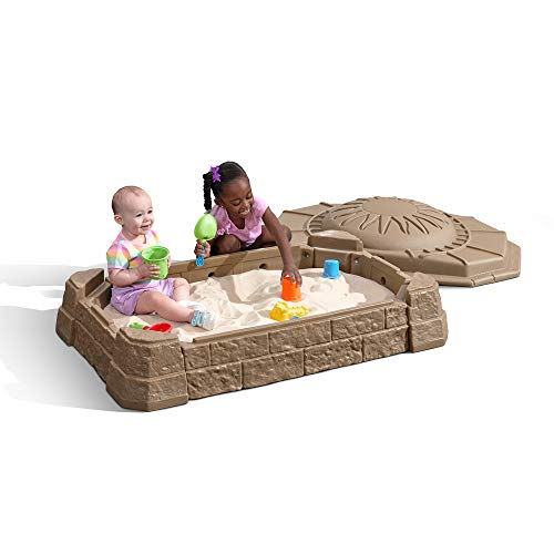 Step2 Naturally Playful Sandbox II with Bonus Sand Tools