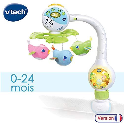 puissant VTECH-Mobile TOURNI CUI Baby, 80-513105, multicolore