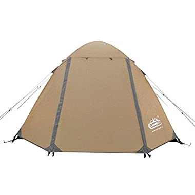 4 Season Tent 2 Person backpacking Portable Carrying Bag for Casual Family Camping, Hiking, Outdoor Festivals