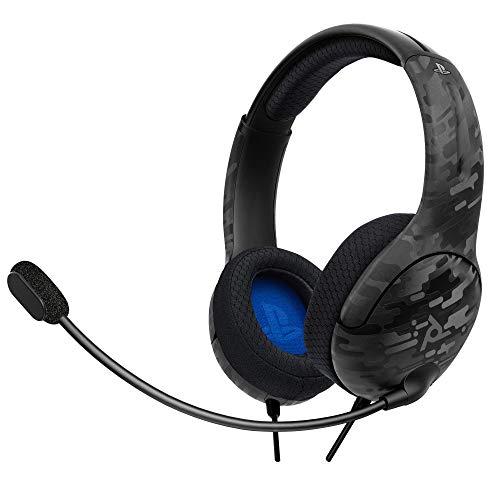 LVL40 Stereo Headset PS4 Black Camo