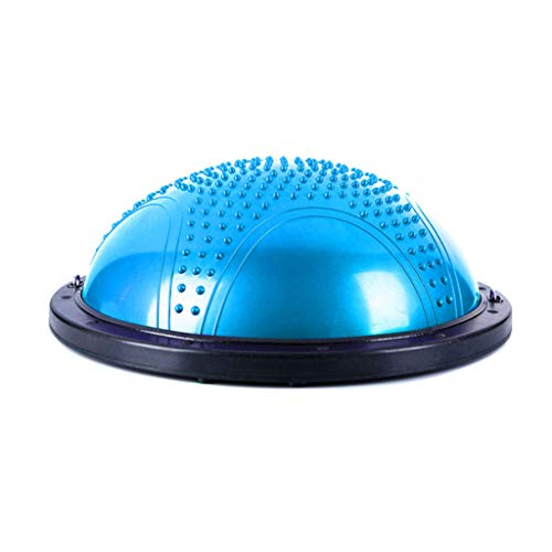 Find Discount Lana Yoga Ball, Yoga Hemisphere Bola Pilates Balance Hemisphere Gym Exercise Fitness C...