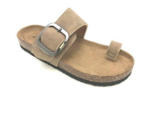 OUTWOODS Women's Bork-63 Sandal Taupe 6