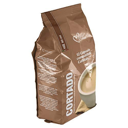 Italian Coffee - 96 cápsulas compatibles con sistemas Caffitaly System-Professional-Coffee For You* (8 paquetes x 12 cápsulas)