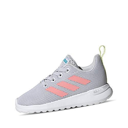 adidas Jungen Unisex Kinder Lite Racer CLN I Laufschuh, Dash Grau Glory Pink, 24 EU