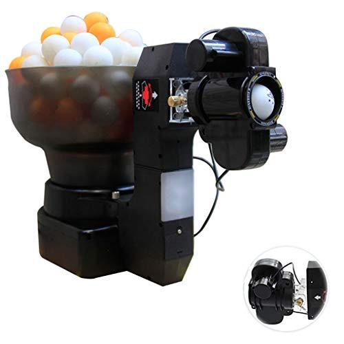 Robot Ping Pong Máquina de pelotas y robot de tenis de mesa 36 vueltas Máquina automática de pelotas de ping-pong Inicio Practicar entrenamiento Ejercicio Lanzador de pelotas con control remoto con