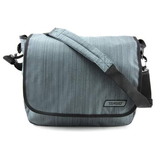 Target Shoulder Bag Melange Zinc Sac à Dos Enfant, Gris, 11 Litre