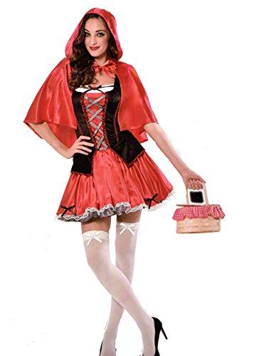 StyleKiste Karneval Damen Kostüm/Fasching/Halloween-Parties -[ Motive: Rotkäppchen] (S/M)