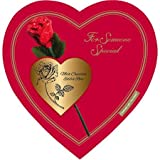 Elmer Chocolate Valentine's Day Rose Heart Gift Boxes, 9 Ounce Box