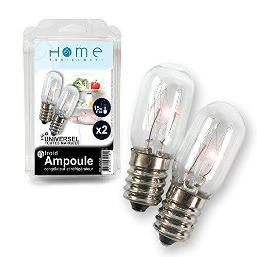 Home Equipement A95148 Réfrigérateur/Congélateur Lampe E14 15W\