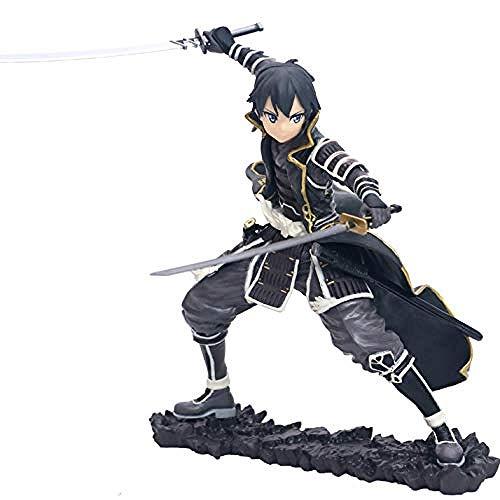 ZJZNB Modelo de Juguetes Sword Art Online-Kirigaya Kazuto-Kirito-7 Cm-Sao-Figura de acción Juego clásico de Dibujos Animados Anime Modelo Infantil Estatua Decoración