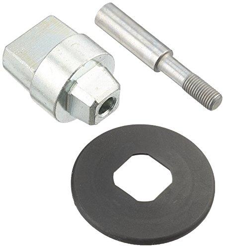 DORMA Steckachse für Boden-Türschließer BTS 75, BTS 80, BTS 84 | 10,5mm Verlängerung | 15,5 mm Gesamthöhe | 1 Stück