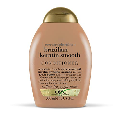 OGX Brazilian Keratin Smooth Conditioner for Dry Hair, 385ml