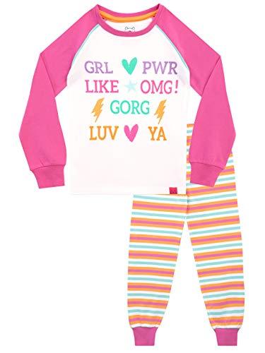 Harry Bear Pijamas para niñas Slogan Ajuste Ceñido Multicolor 12-13 Años
