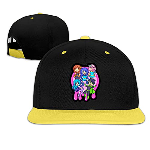 Niños Snapback Cap Funneh Krew Cartoon Hat Flat Peak Hat Gorra de béisbol para niño niña