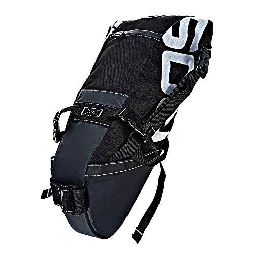 Kinhevao Sportausrüstung Wasserdicht 8L Fahrrad-Hecktasche Sattelrohr-Beutel for Outdoor-Begeisterte
