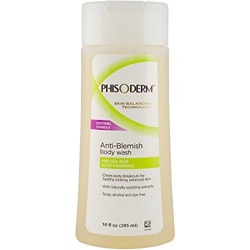 Phisoderm Anti-Blemish Body Wash, 10-Ounce