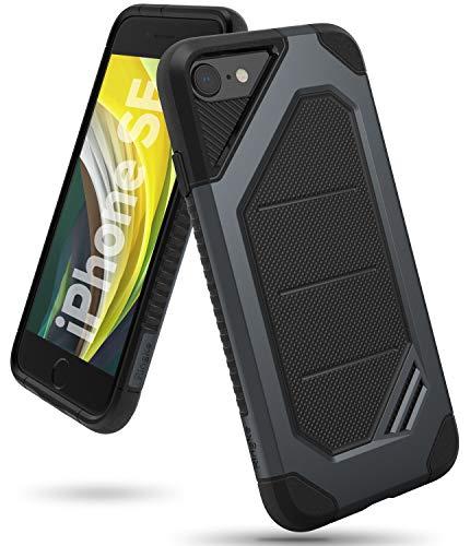 Ringke iPhone 7 Hülle, iPhone 8 Hülle, MAX Panzerhülle [Stoßdämpfend] Doppelschicht Schutz Hochleistung Maximal Kratzfest Case Cover für Apple iPhone7, iPhone8 - Slate Metal