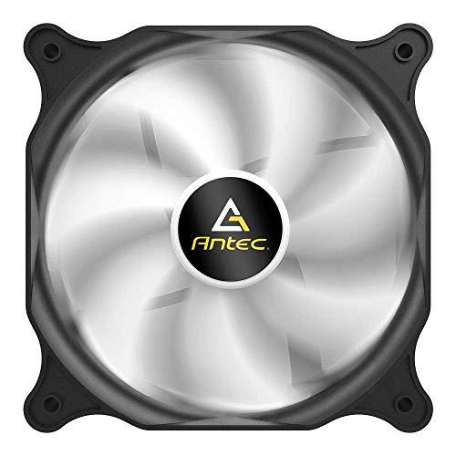 Antec Ventilador de Carcasa de 120 mm, Ventilador de PC, Conector silencioso de 3 Pines, Serie F12