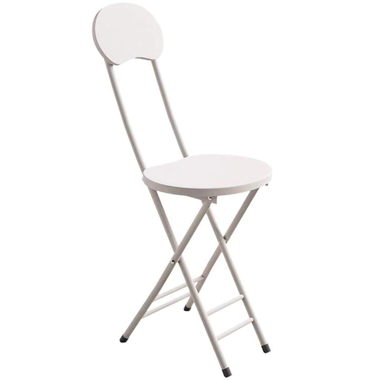 軽蔑するフローティング尊敬する折りたたみ椅子 アウトドアチ ポータブルシート折りたたみ椅子椅子トリプルブレースメタル折りたたみ椅子シーティングダブルブレーススタッカブルラウンドスツール (Color : E)
