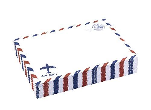 beechamp 50offenes Ende Vintage Einladung Briefumschläge Luftpost Stationery 175*125mm weiß