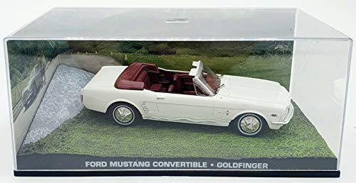 Die Cast PLTS Ford Mustang Convertible - Agente 007 - Missione Goldfinger Scala 1:43 S036