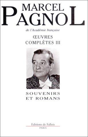 Oeuvres complètes Marcel Pagnol