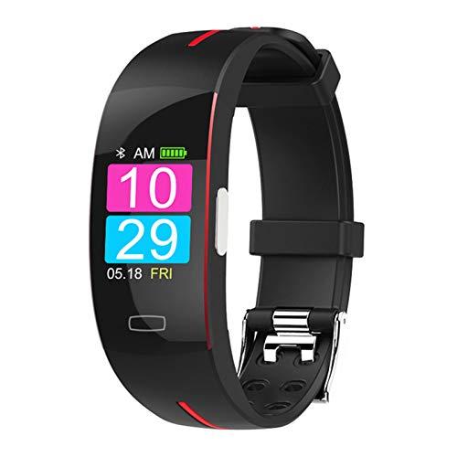 ZGNB Pulsera de Reloj Inteligente para Android iOS ECG + PPG P3 Plus Watch Smart Reloj DE SMARTOS Presión Arterial IP67 Deportes Impermeables,C