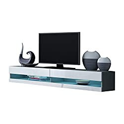Domadeco Seattle Wall Mounted TV Stand Entertainment Center