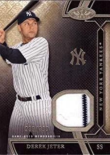 derek jeter game worn jersey