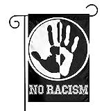 Di no al Racismo prejuicio Tengo un sueño Personalizar y Decorar la Bandera del jardín 30x45cm