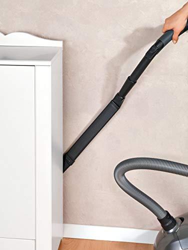 WENKO Staubsauger-Schwert 2er Set - 2er Set Universal-Staubsaugeraufsatz, Polyethylen, 94 x 1 x 5 cm, Schwarz