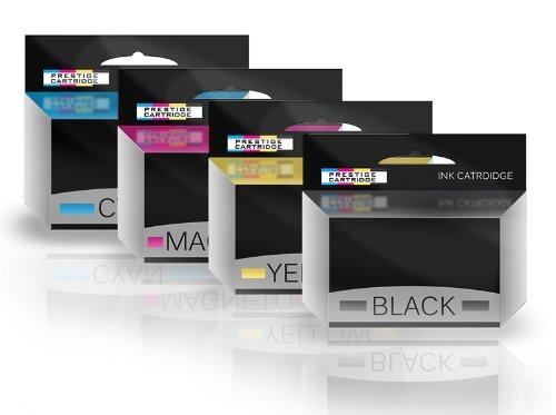 Prestige Cartridge Epson T7031 T7032 T7033 T7034 - Pack de 4 cartuchos de tinta, tricolor y negro