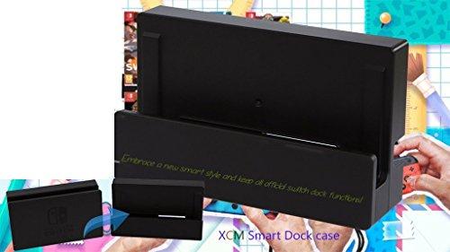 XCM Smart Dock case for Nintendo Switch ニンテンドースイッチ Dock本来の機能をそのままでスクリーンを保護できます 431886