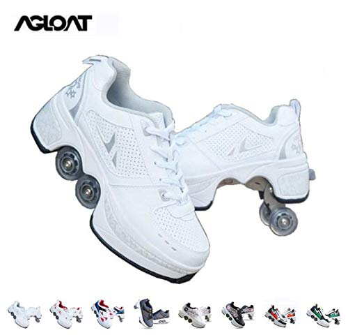 PIAOL Roller Skates Women,Quad Roller Skates Kids,shoes With Wheels For...