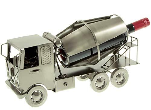 hLine Flaschenhalter Betonmischer Flaschenständer LKW aus Metall