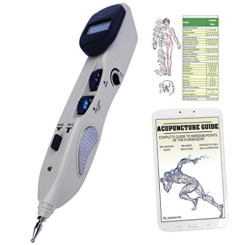 Electronic Acupuncture Pen  Pain Relief Therapy  Meridian Energy Pulse  Laser Acupuncture Pen  USB Rechargeable  Bonus E-Book  No Acupuncture Needles Used