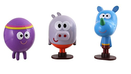 Hé, Oua-Oua – Rouly, Tag et Betty – Pack 3 Figurines 5 cm
