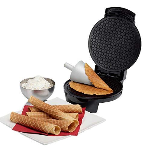 Waffeleisen Belgische Waffel, Waffeleisen , Cone Crispy Egg Roll Machine Elektrischer Waffeleisen Bubble Egg Cake Oven , Mini Waffeltopf Frühstück Waffelmaschine
