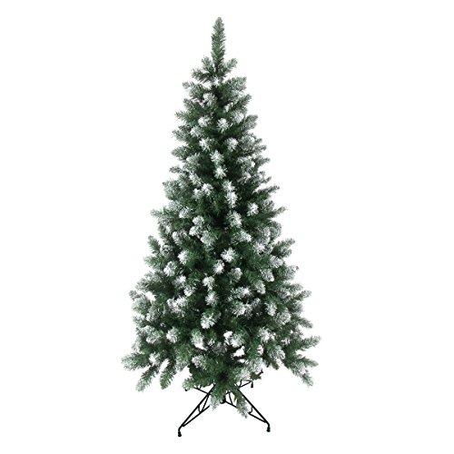 クリスマス屋 クリスマスツリー 180cm 雪付き ポイントスノーツリー グリーン ツリーの木 ヌードツリー