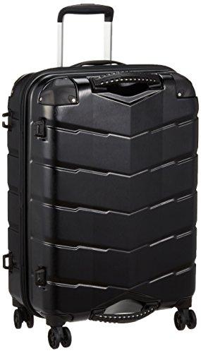 [シフレ] グリップマスター搭載ジッパーハードケース GripMaster 防犯ファスナー USB充電アシスト 保証付 65L 58 cm 4kg ヘアラインブラック