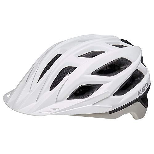 KED Helmet Companion Fahrradhelm/E-Bike/Mountainbike/MTB/Erwachsene Unisex/ash matt, Größe L 56-62 cm