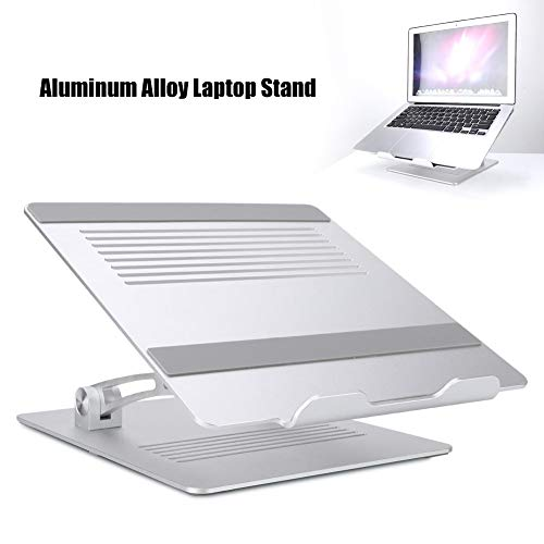 Mavis Laven Laptop Stand Elevator Multi-Angle Laptop-Halter, Aluminiumlegierung Ultra Durable Notebook Stand Einstellbare Laptop-Ständer mit Anti-Rutsch-Gummi-Pad für 11-17 Zoll Laptop
