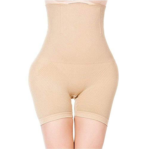 Sexy Butt Lifter Women Slimming Shapewear Tummy Control Panties High Waist Trainer Body Shaper,Fahion Apricot,XL