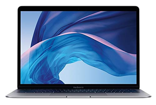 Apple 2018 13.3in MacBook Air, Mac OS, Intel Core i5, 1.6 GHz, Intel UHD Graphics 617, 128 GB, Space Gray (Renewed)