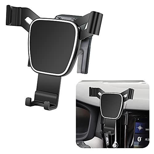 LUNQIN Car Phone Holder for 2019-2021 Volvo S60 Auto Accessories Navigation Bracket Interior Decoration Mobile Cell Phone Mount