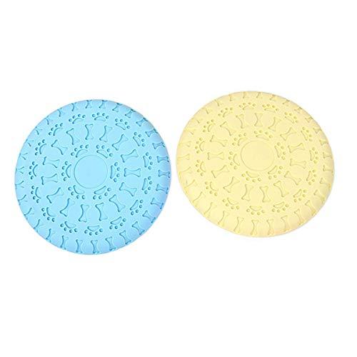 HUI JIN Interaktives Spielzeug mit Untertasse, für Land und Wasser, 2 Stück